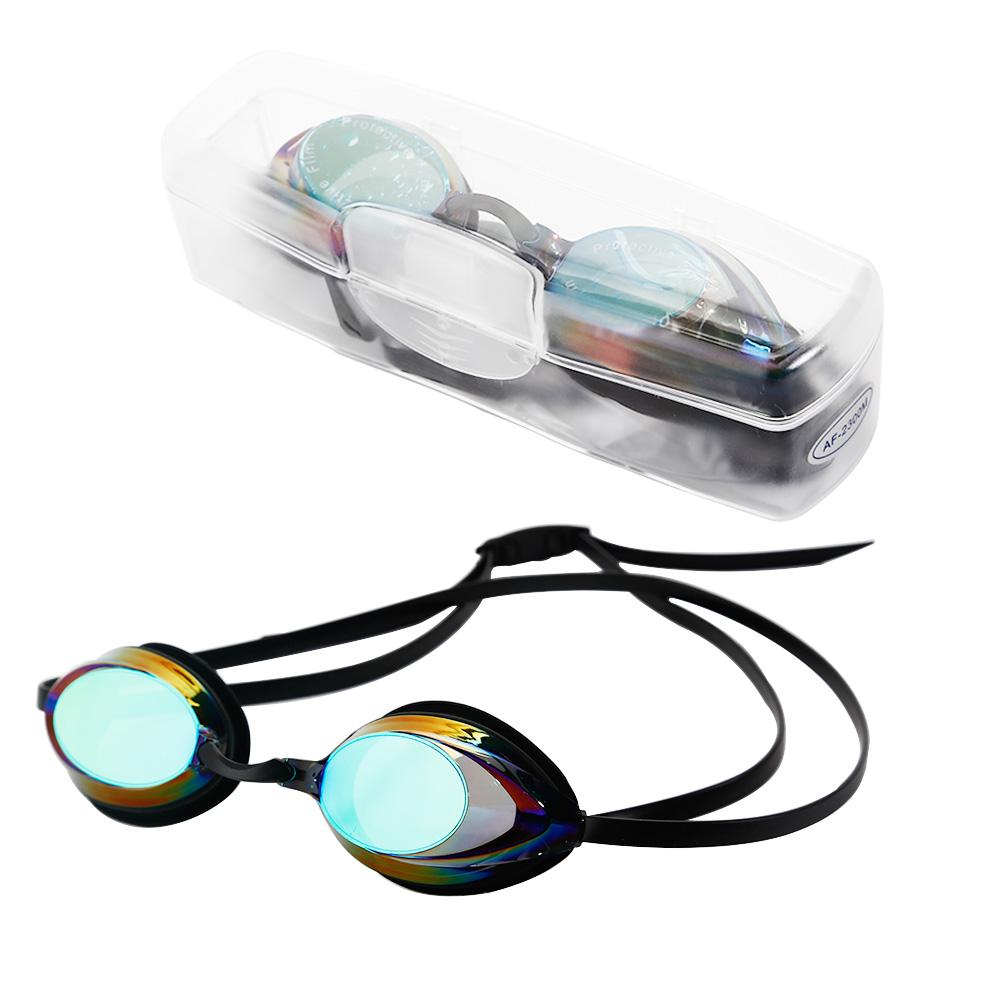 swimming goggles anti fog uv adjustable swim glasses nose clip kids adults us ebay. Black Bedroom Furniture Sets. Home Design Ideas
