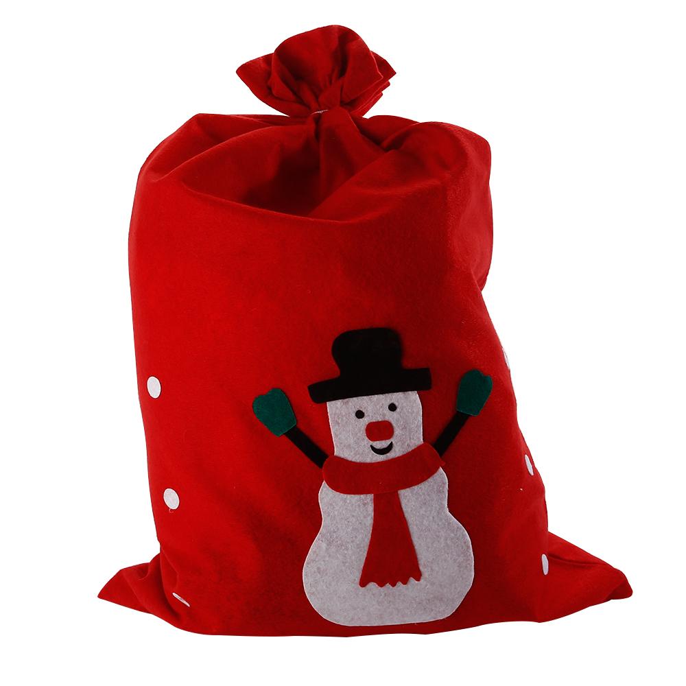 Large santa sack snowman christmas gift present stocking bag red large santa sack snowman christmas gift present stocking negle Choice Image