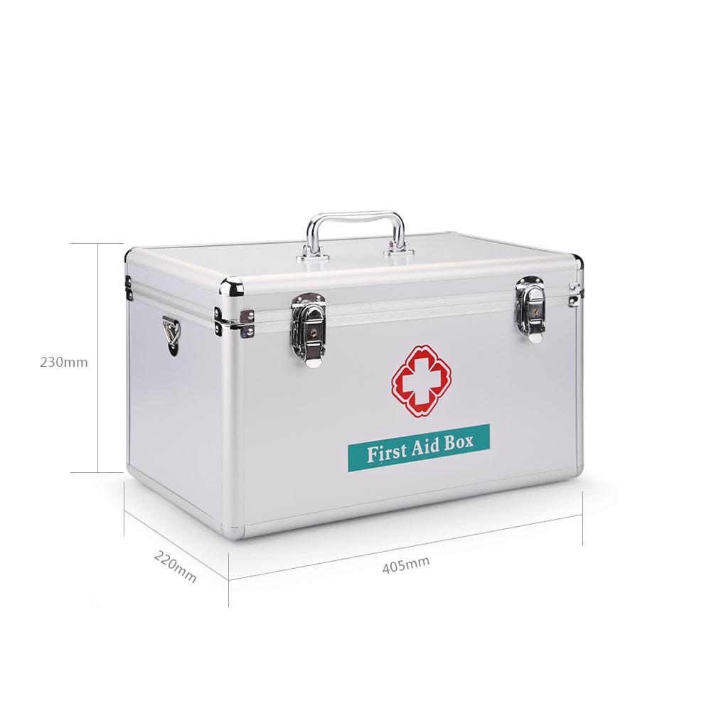 medizinkoffer medizinbox erste hilfe box kasten arzneischrank medizinschrank ebay. Black Bedroom Furniture Sets. Home Design Ideas