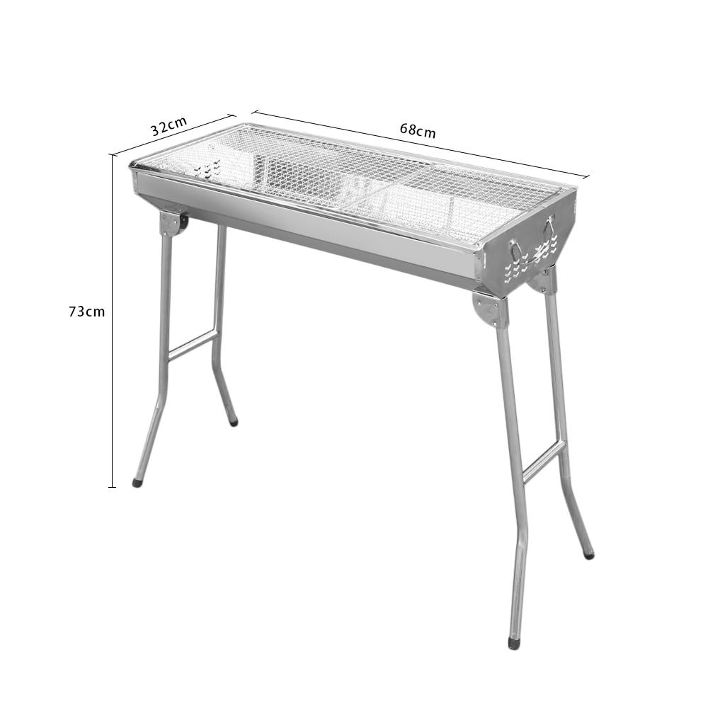 bbq edelstahl holzkohle grill tischgrill kohlegrill garten. Black Bedroom Furniture Sets. Home Design Ideas